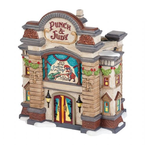 Department 56 Punch and Judy Theatre & Accessory Set